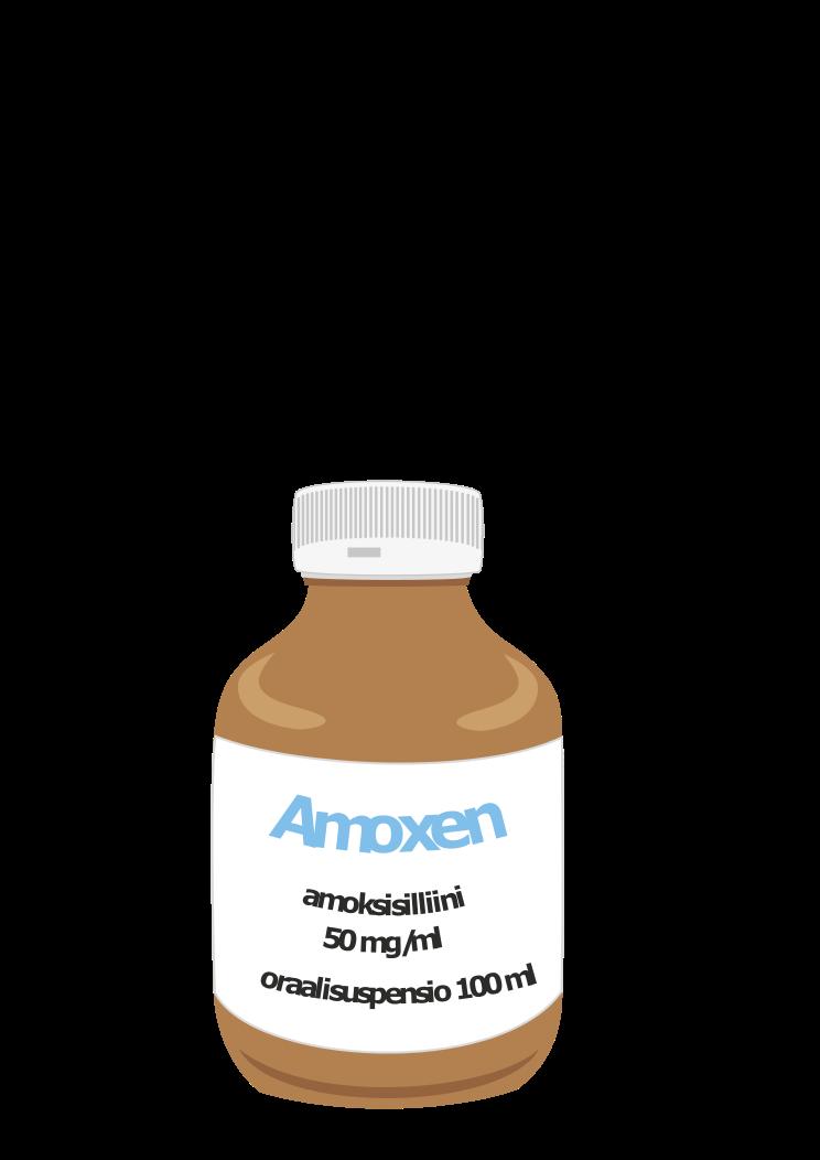 Amoxen, amoksisilliini