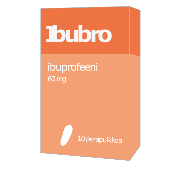 Ibubro, ibuprofeeni