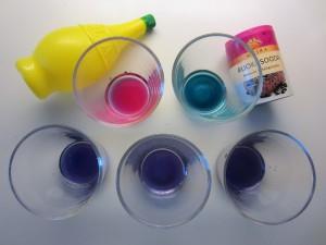 Kemiallisia kokeita kotona